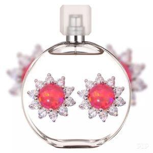 Jewelry - Red Fire Opal Earrings